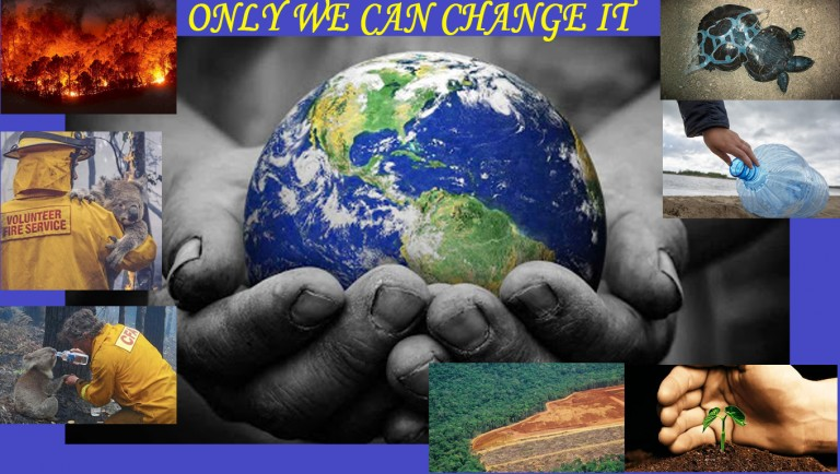 Only we can change it
